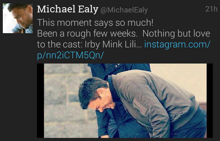 Source: Michael Ealy Twitter